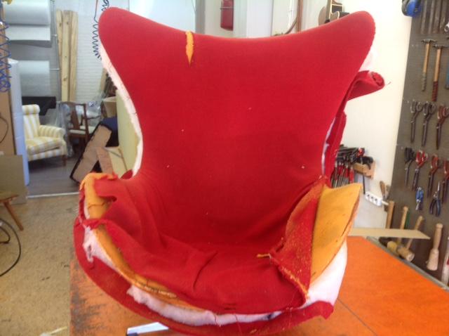Egg Chair Stof.Brunink Meubelstoffering Voorbeelden Van Door Ons Gestoffeerde